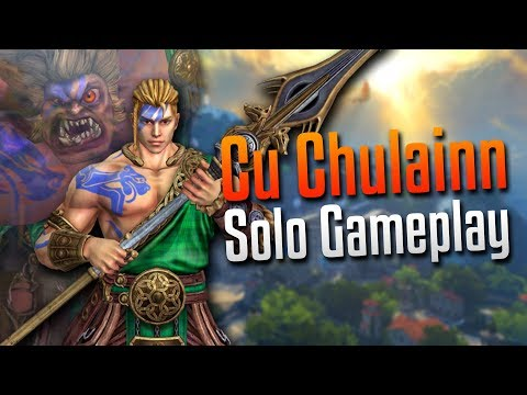 Smite: We're Taking It to Late Game!- Cu Chulainn Solo Gameplay