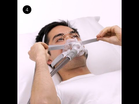 Managing Leaks | Full Face CPAP Mask | ResMed AirFit™ F30