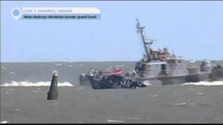 Guard Boat Explosion: Mine destroys Ukrainian border guard boat near Mariupol