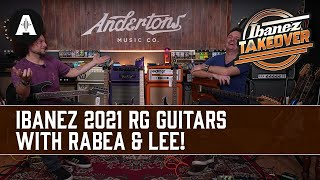 First Look at the NEW Ibanez 2021 RG Guitars! - ft Rabea & The Captain