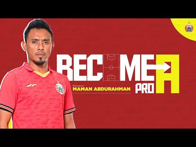 Maman Abdurrahman Berikan Cerita Pengalaman Berharga Untuk Tim Junior Persija Jakarta   Become A Pro