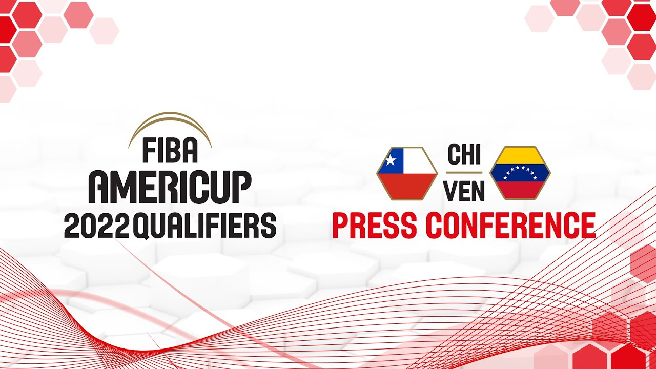 Chile v Venezuela - Press Conference - FIBA AmeriCup 2022 Qualifiers