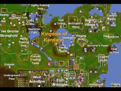 How To Enter The Gnome Stronghold On RuneScapes 2007 Old School Server