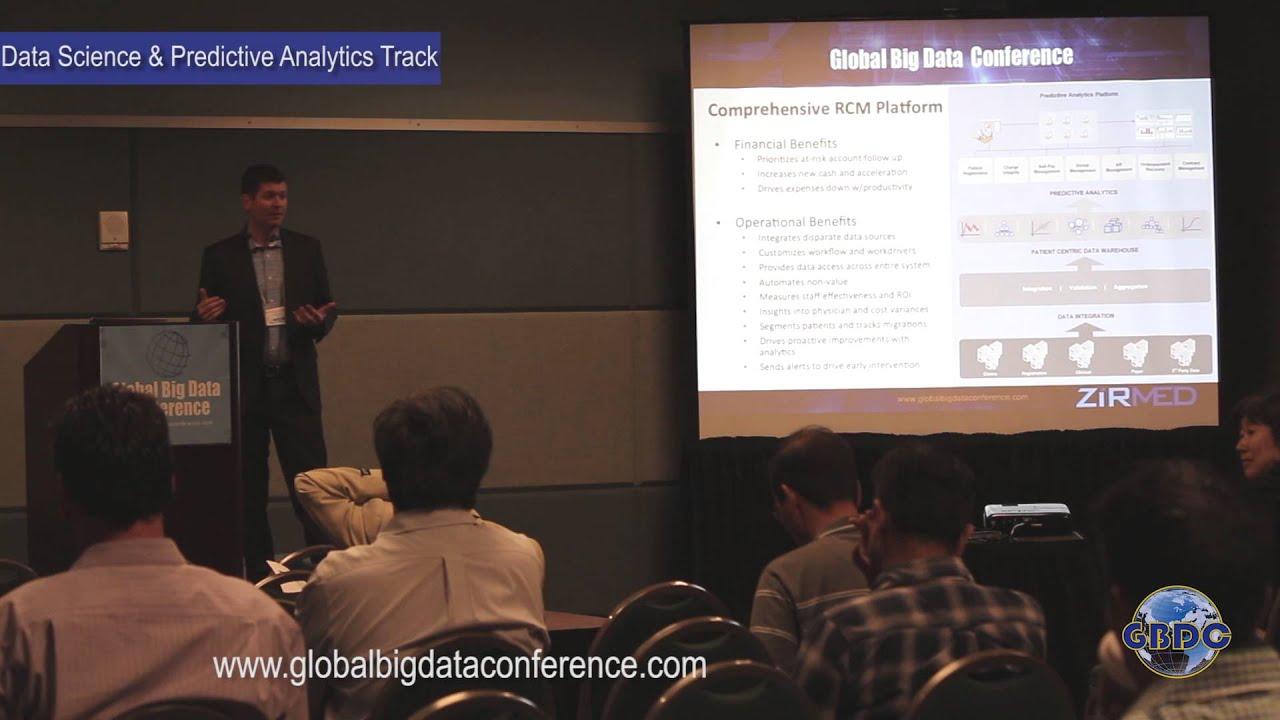 Paul Bradley(ZirMed):Predictive Analytics in the Healthcare Industry