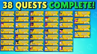 Completing (almost) All my Brawl Pass QUESTS at once to get Mecha Paladin Surge! Brawl Stars