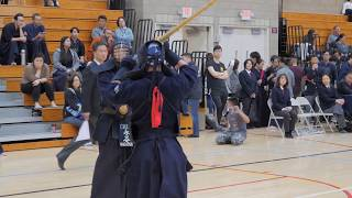 Kendo 2018 Mori Hai Tournament 3-4Dan Division Semi Finals 2