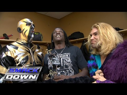 Goldust witnesses the birth of the