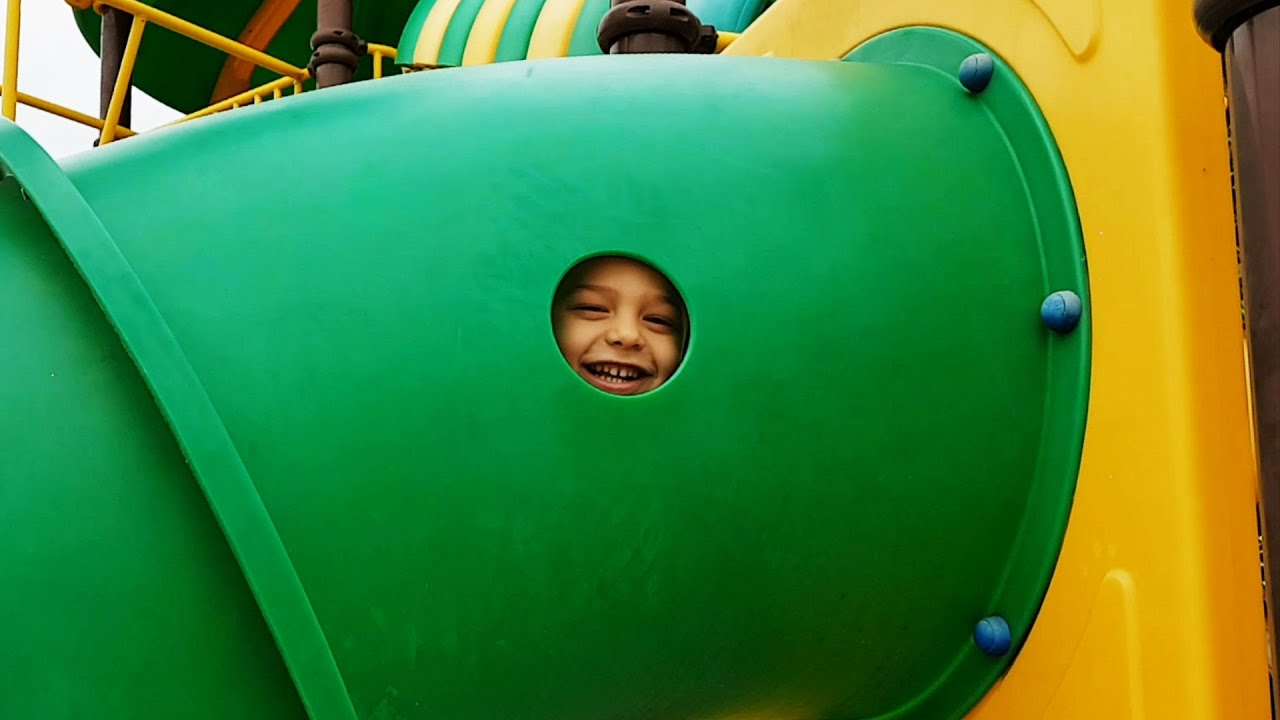 Outdoor playground fun for kids at Water Park Video from KIDS
