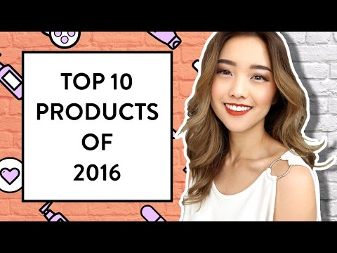 Top 10 Beauty Products of 2016