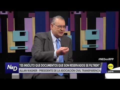 NED   Allan Wagner dice que Salaverry debería ampliar legislatura para ver proyecto de la JNJ
