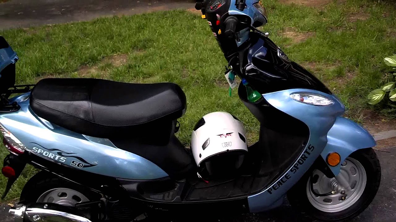 Chinese 50cc scooter review funnydog tv for Small motor scooters for sale