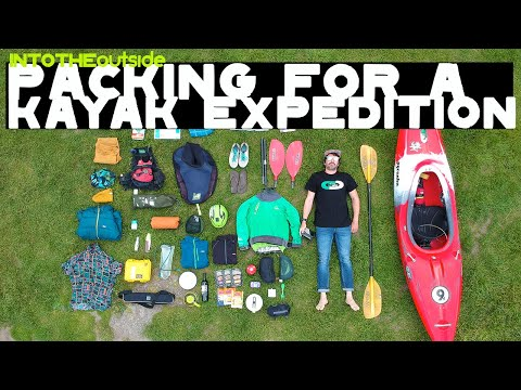 Packing for a Kayak Expedition
