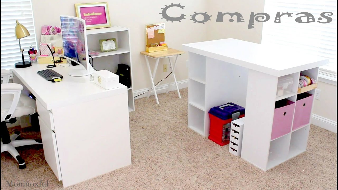 escritorio y mesa para manualidades desk craft table