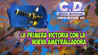 Creative Destruction: La Primera Victoria Con La Ametralladora (Version Para PC)