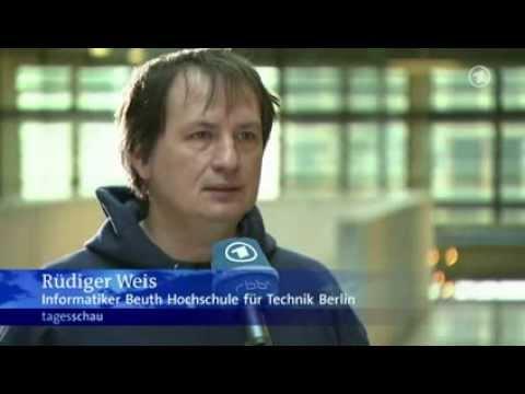 ARD Tagesschau: #30c3  - Der #CCC lädt zum Chaos Communication Congress  - 27.12.2013