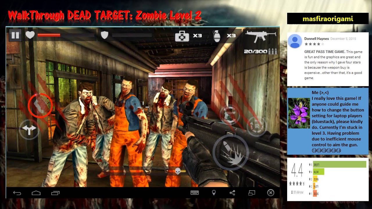 Dead Target Zombie Game Youtube Mouse Terminator X3