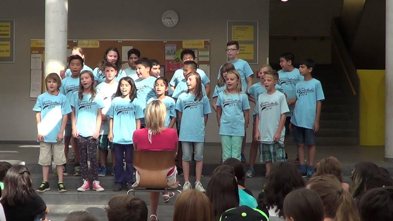 Auf Uns Abschiedslied Klasse 4a Eichgrundschule Rüsselsheim 2014