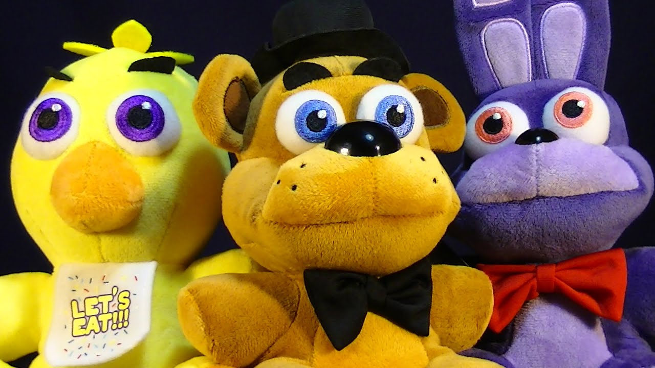 Fnaf Bonnie Plushies For Sale - Funko five nights at freddy s plush stuffed animal review bonnie chica freddy foxy and golden youtube
