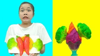 Trò Chơi Bán Hàng Nấu Ăn và Vị Khách Khó Tính - Trang Vlog