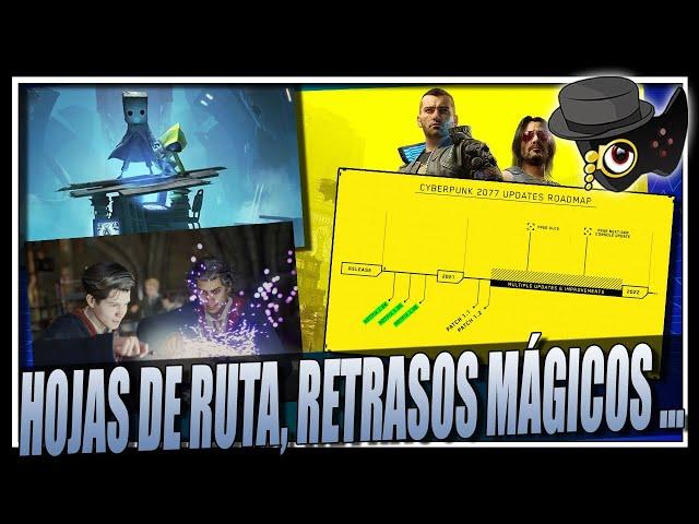CYBERPUNK 2077 Y SU HOJA DE RUTA, HOGWARTS LEGACY SE RETRASA, EA VS TAKE2 Y MAS...