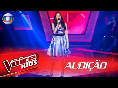 "Julia Gold canta ""Secret Love Song"" na Audição – The Voice Kids Brasil | 2ª Temporada"