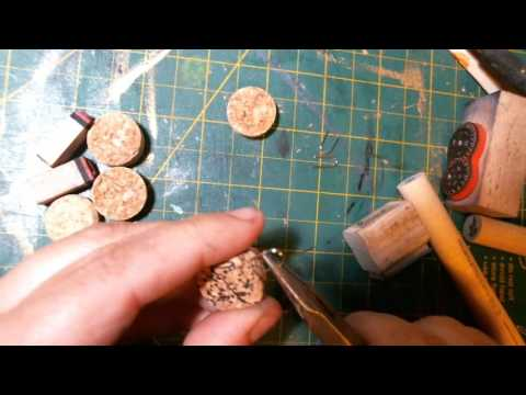 Upcycling Wine Corks to Charms