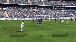 Fifa 10 Gameplay Real Madrid vs Tottenham Part 1      HD