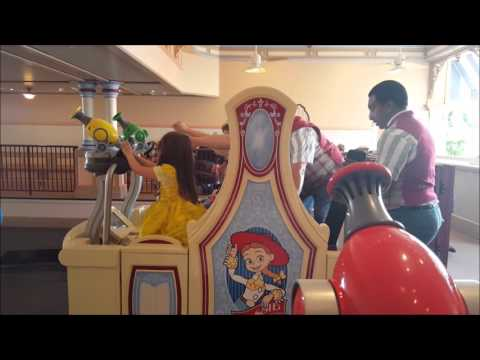 Disneyland 2016:Handicap Access Rides - How they work