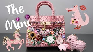 DIY | The Pink Mini Patch Bag | BellaGemaNails