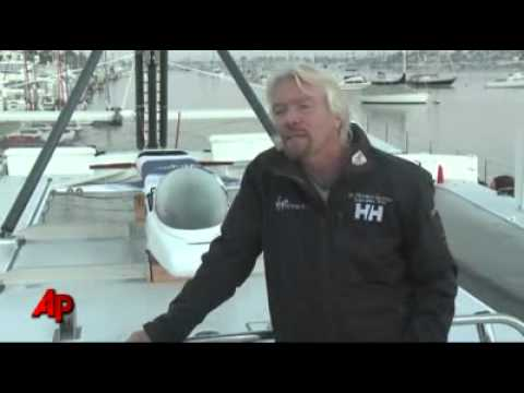 Richard Branson plans to journey to the bottom of the ocean