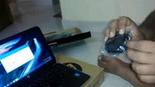 Installation of HP wireless keyboard & mouse
