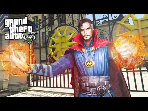 "GTA 5 Mods - ULTIMATE ""DOCTOR STRANGE"" MOD!! (GTA 5 Mods Gameplay)"