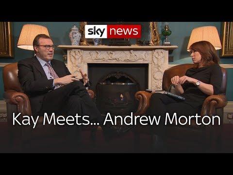 Kay meets royal biographer Andrew Morton