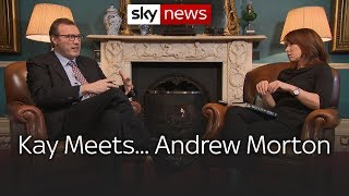 Kay meets royal biographer Andrew Morton