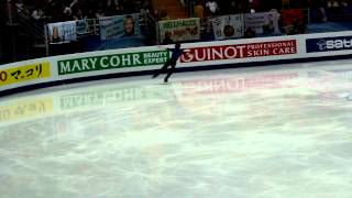 World Championships 2011 SP Moscow Kevin Reynolds
