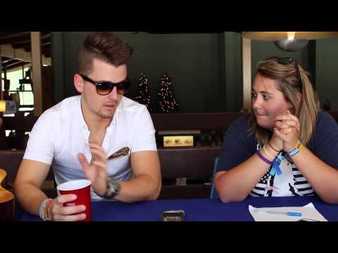Chase Bryant at The 2015 Taste of Country Music Festival