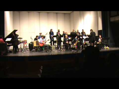 UMass Lowell Jazz Rock Big Band - The Quiet Corner