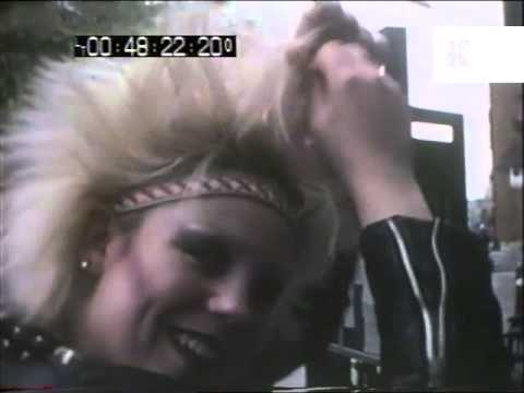 Early 1980s Punks in Chelsea, London Home Movies