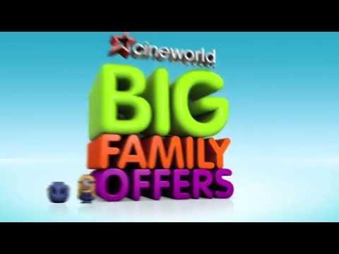 "Cineworld Big Family Offers 37"" Cinema Advert (2013)"