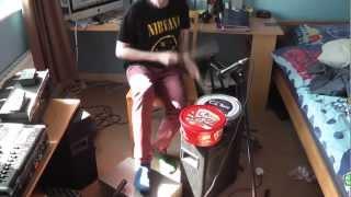 Homemade drum kit Pt 2