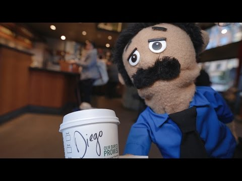 Diego Vlog #1 | Awkward Puppets