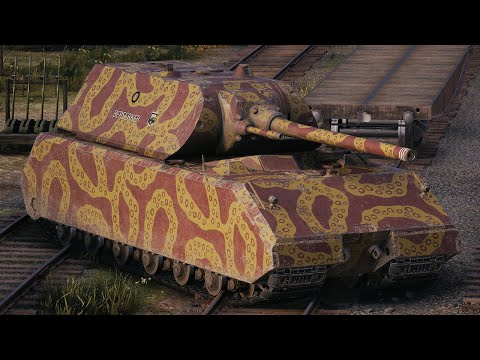 World of Tanks Maus - 5 Kills 9,8K Damage