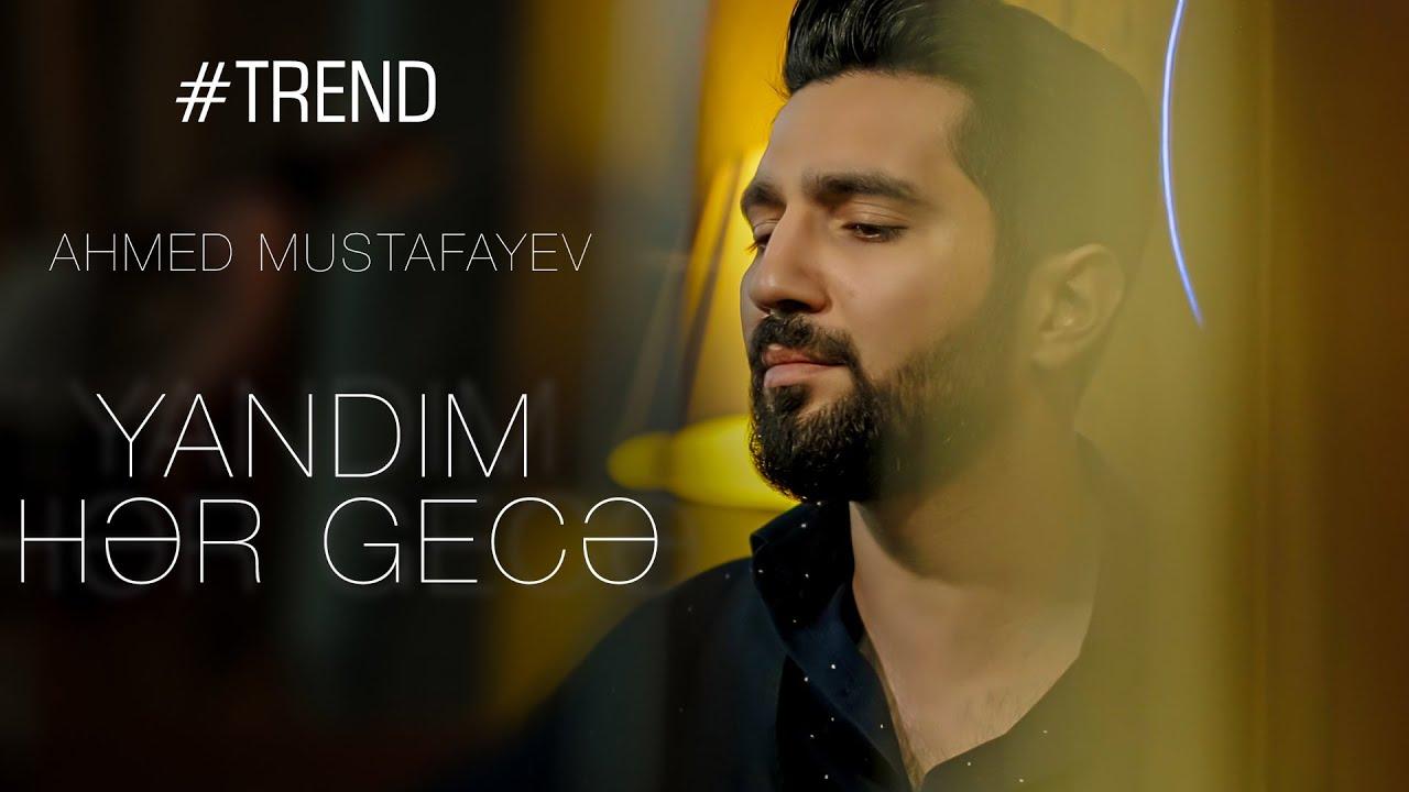 Ahmed Mustafayev — Yandım hər gecə ( Cover 2021 )