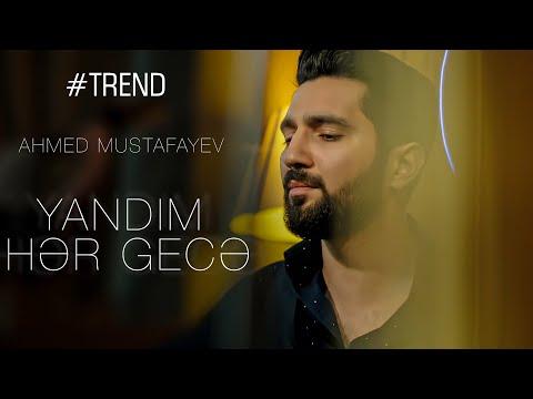 Ahmed Mustafayev - Yandım hər gecə Cover