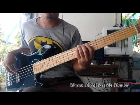 Maroon 5 - Makes Me Wonder Cover by Jo Bassist