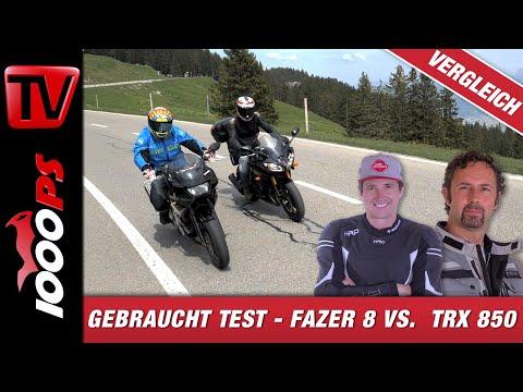 Nakedbike / Sporrtourer Geheimtipps - Gebrauchtmotorrad Test - Yamaha Fazer 8 - TRX 850