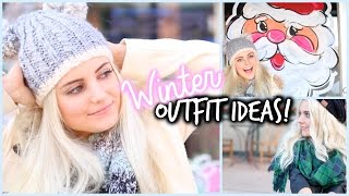 Winter Outfit Ideas! Stay Warm & Look Cute! | Aspyn Ovard