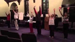 Dance Rehearsal 12-10-15 - Hallelujah by Quincy Jones