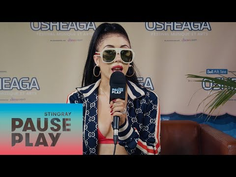 Kali Uchis Interview | Osheaga 2018 | Stingray PausePlay