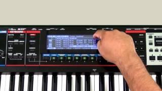 Roland Juno-Gi - Live Set Creation 02 - Stage EP Xtra (Layer)